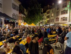 18.08.2017   CH-Basel, Em Bebbi sy Jazz – Latin Focus Bühne Rümelinsplatz