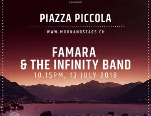 FAMARA & THE INFINITY BAND live @ Moon&Stars, Locarno!